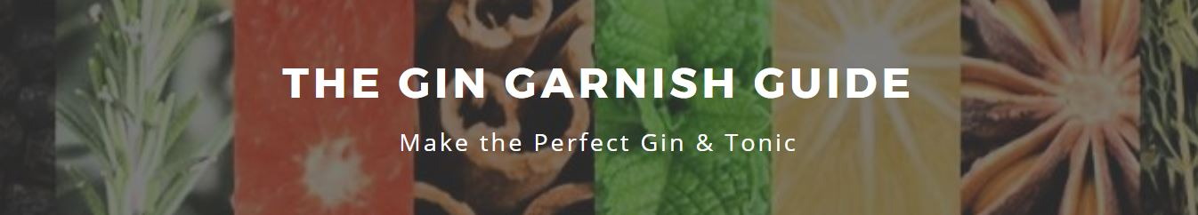 Gin Garnish Guide