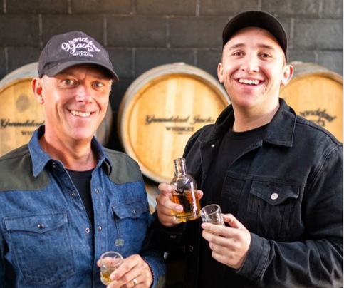 Granddad Jack's Distillery - David and Luke Ridden