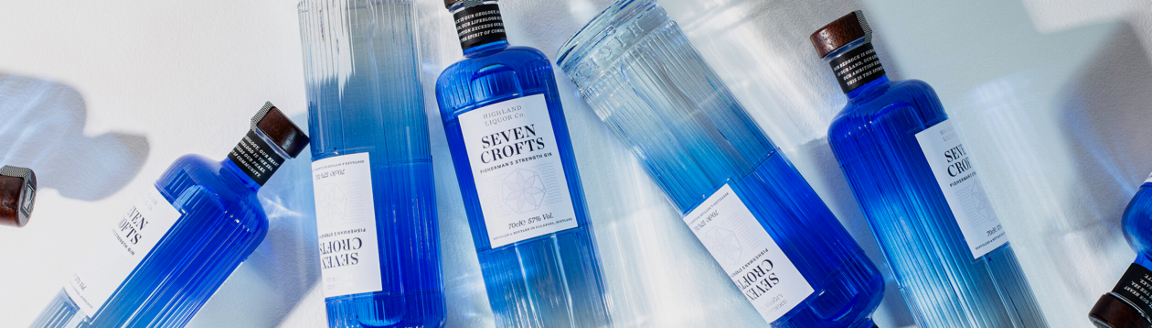 Seven Crofts Gin - Fisherman's Strength