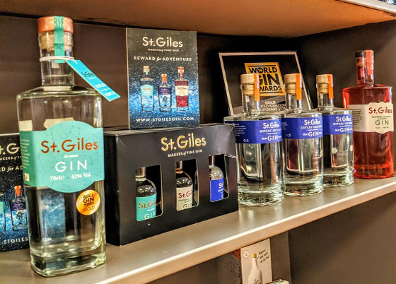 St Giles Gin - Norwich