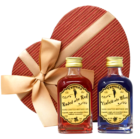 Tappers Gin - Valentine's Gift Set