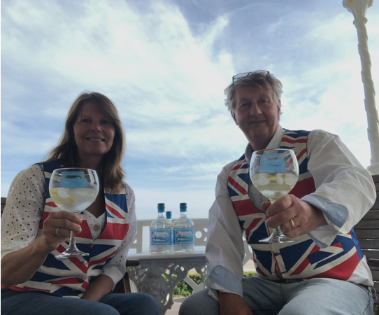 Worthing Gin - Phil and Alison