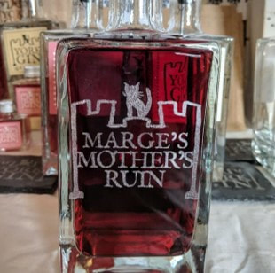 York Gin - Engraved
